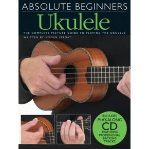 Absolute Beginners Ukulele Bk/Cd