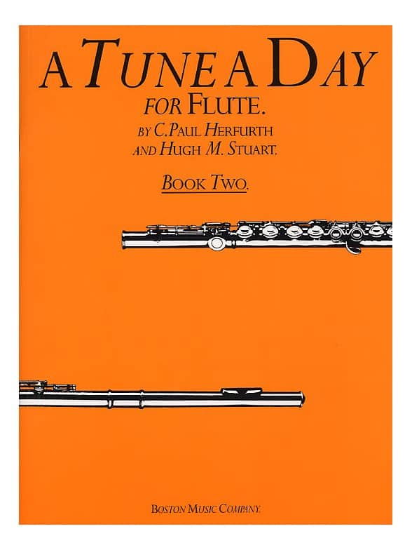 A TUNE A DAY FOR FLUTE  BOOK 2