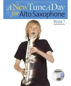 A New Tune A Day For Alto Saxophone Book 1/Cd