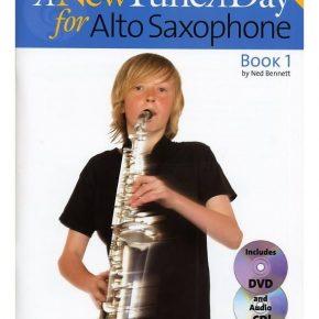 New Tune A Day For Alto Sax Book1 Dvd