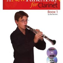 New Tune A Day Clarinet Bk/Cd/Dvd
