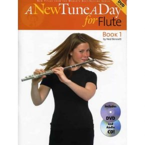A New Tune A Day Flute Bk/Cd/Dvd