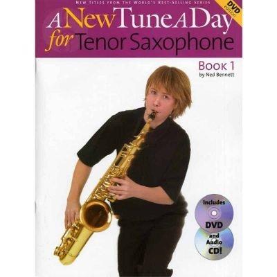 A New Tune A Day Tenor Sax Book 1 & Dvd