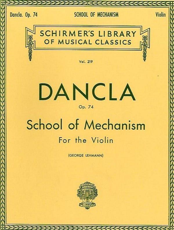 Dancla School of Mechanism OP74 Violin