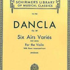 Dancla Six Airs  Varies  Op 89 Violin