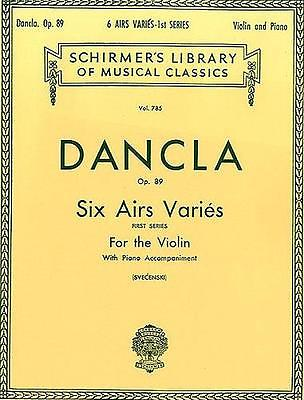 Dancla Six Airs  Varies  Op 89 Violin