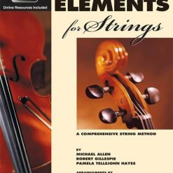 Essential Elements 2000 Cello Book 1 & Cd