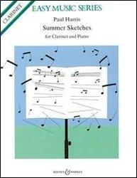 Paul Harris Summer Sketches Clarinet & Piano