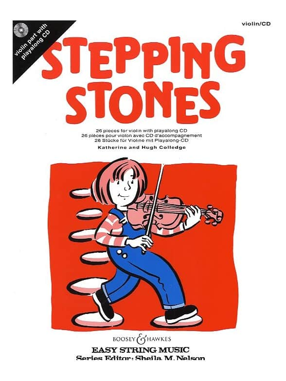 Stepping Stones Bk & Cd Violin