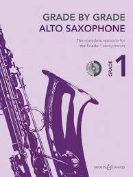 Grade By Grade Alto Sax Grade 1 & Cd