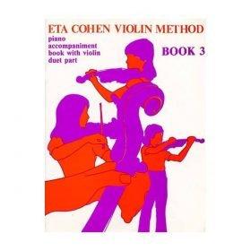 Eta Cohen Violin Method Bk 3 Piano Acc