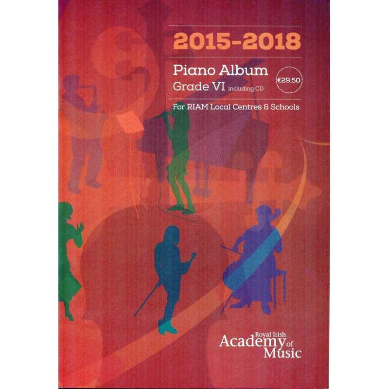 Riam Piano Album Grade 6 2015 - 2018