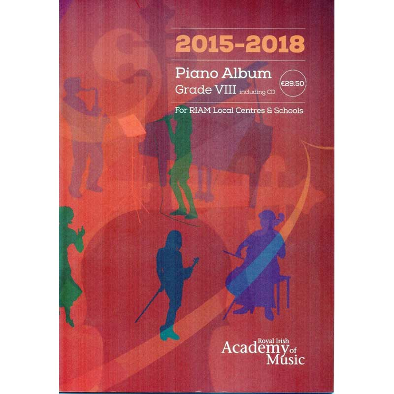 Riam Piano Album Grade 8 2015 - 2018