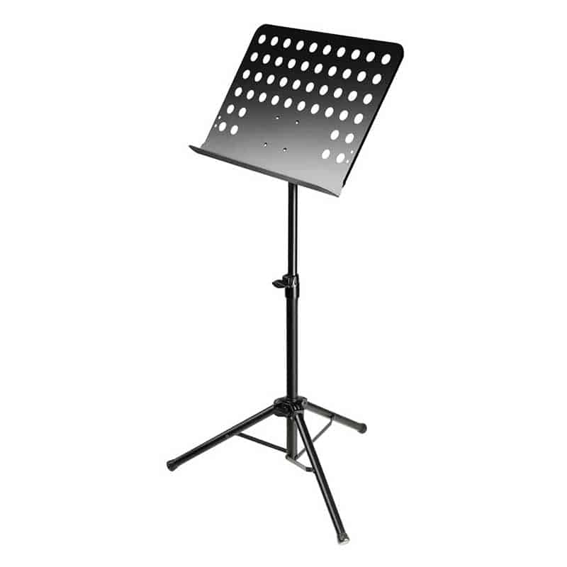 Adam Hall Music Stand Solid Top / W Holes