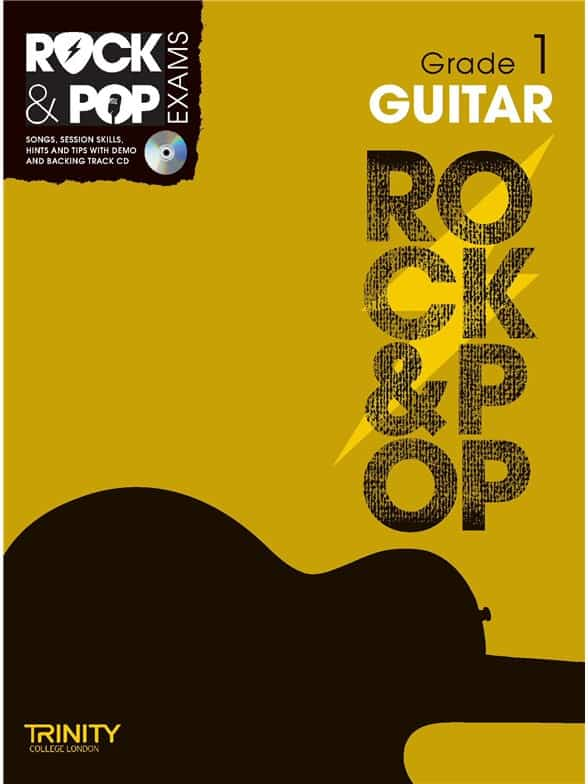 Trinity Rock & Pop Guitar Grade 1 & Cd