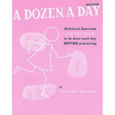 A Dozen A Day Mini Book  ( Pink )
