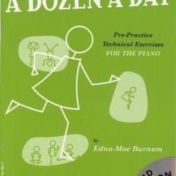A Dozen A Day Book 2 & Cd