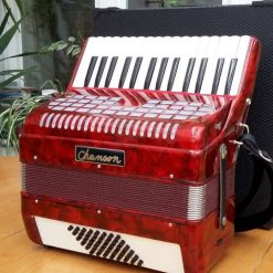 Chanson 48 bass piano accordion, suitable for beginners.