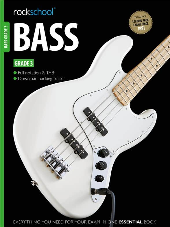 Rockschool Bass Guitar Grade 3 2012 - 2018