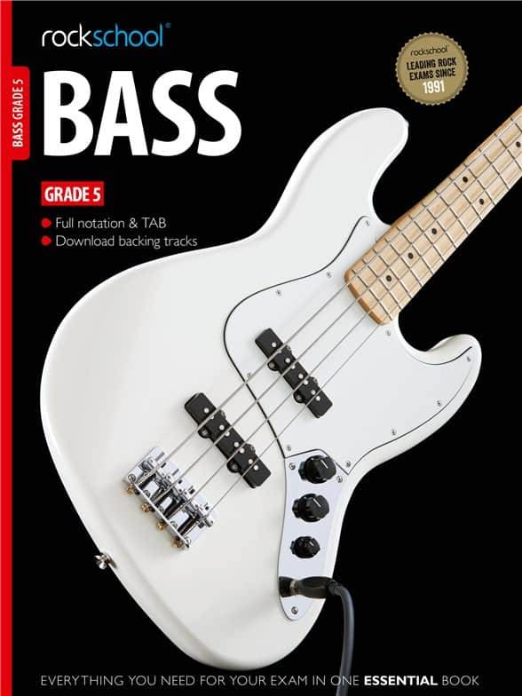 Rockschool Bass Guitar Grade 5 2012 - 2018