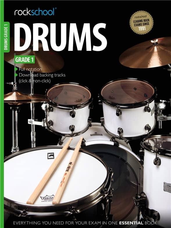 Rockschool Drums Grade 1 2012 - 2018