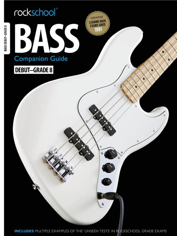 Rockschool Bass Companion Guide Debut - Grade