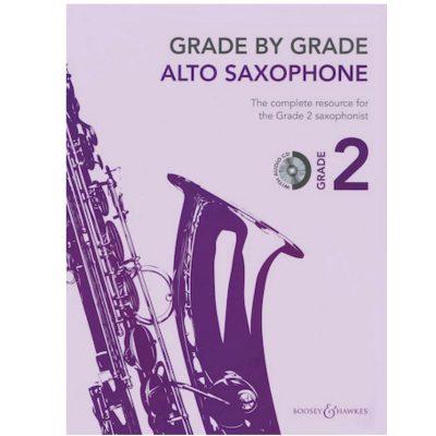 Grade by Grade Alto Sax Grade 2