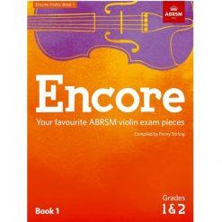Encore Violin Book 1, Grade 1 & 2: Violin