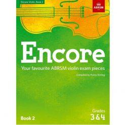 Encore Violin Book 2, Grade 3 & 4: Violin