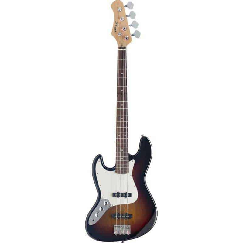 Stagg Jazz Bass GT LH Sunburst