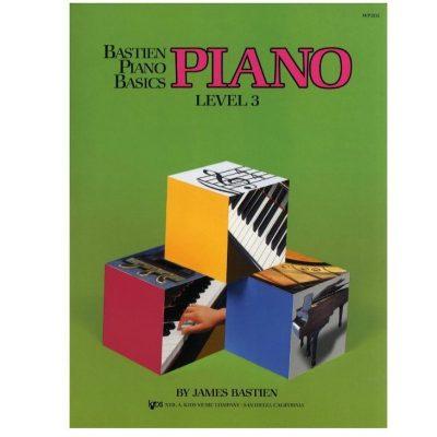 Bastien Piano Basics Level 3