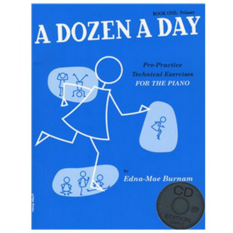 A Dozen A Day: Book One - Primary Edition (Book And CD)