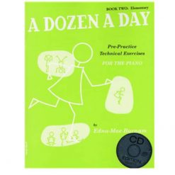 A Dozen A Day Book 2 & Cd
