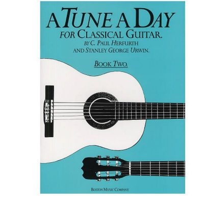 A Tune A Day For Classical Guitar Book 2