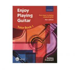 Debbie Cracknell: Enjoy Playing Guitar Tutor Book 1 (Book/CD)