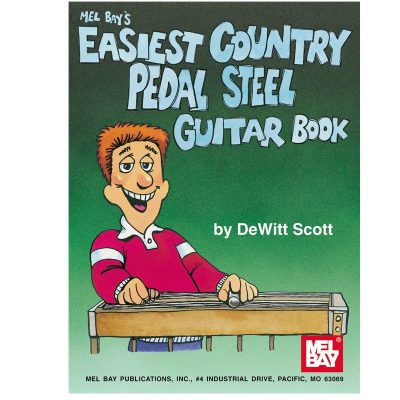 Easiest Country Pedal Steel Guitar Book