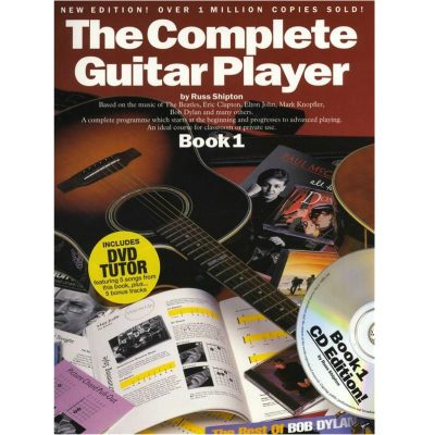 The Complete Guitar Player 1 Book , Cd and Dvd