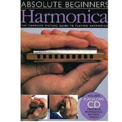 Absolute Beginners Harmonica & Cd