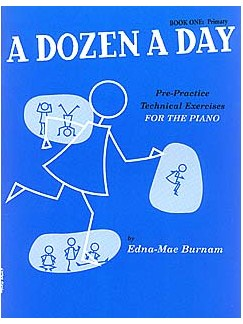 A Dozen A Day Book 1 ( Blue )