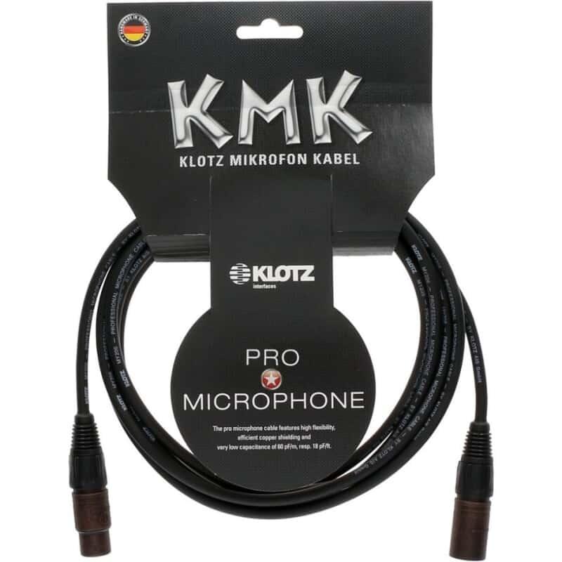 klotz kmk 5m microphone cable