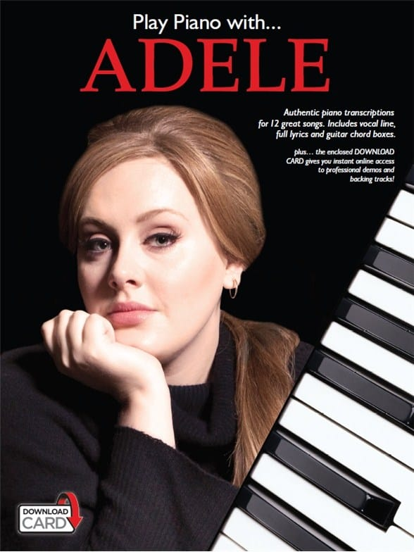 Play Piano With... Adele (Book/Audio Download)