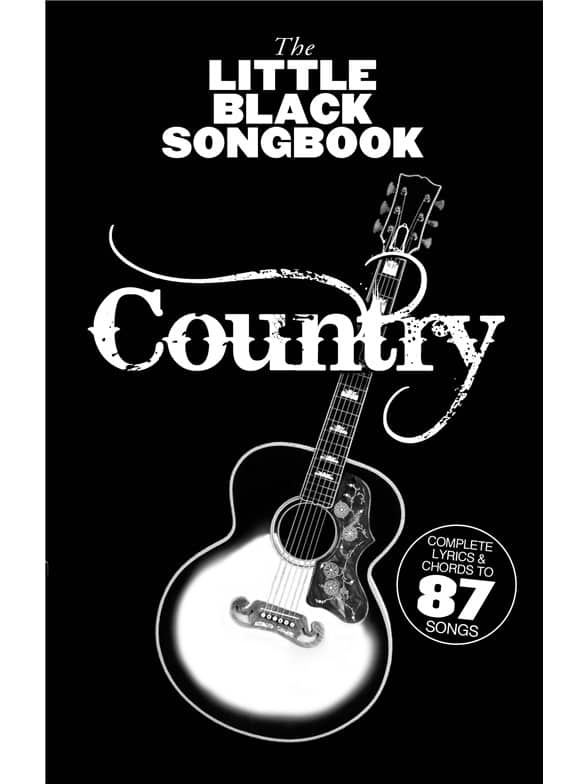 The Little Black Songbook: Country Guitar Tab Music Book