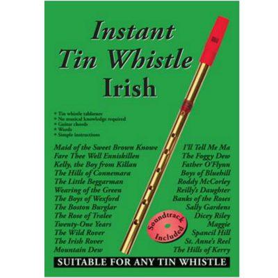 Instant Tin Whistle Irish Book & Cd