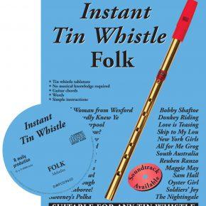 Instant Tin Whistle - Folk Book & CD
