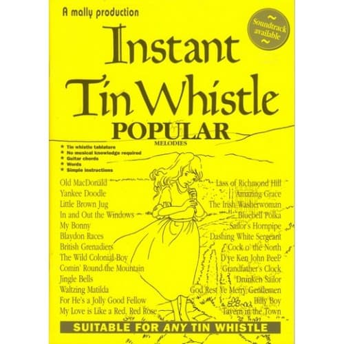 Instant Tin Whistle - Popular