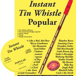 Instant Tin Whistle - Popular Book & CD