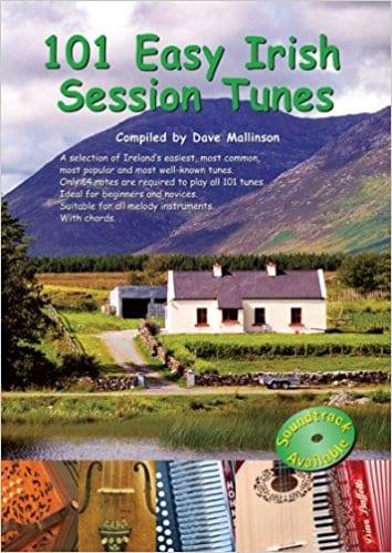 101 Easy Irish Session Tunes Book