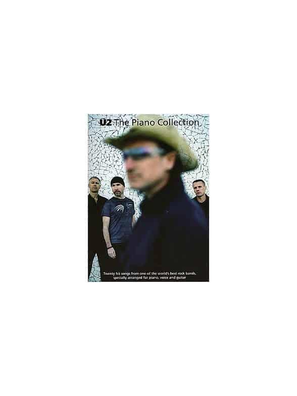 U2: The Piano Collection Piano, Vocal & Guitar