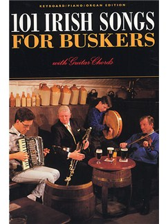 101 Irish Songs For Buskers | Melody line, Lyrics & Chord, with guitar chord boxes