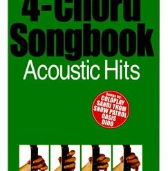 4-Chord Songbook: Acoustic Hits | Guitar (with Chord Boxes and Chord Symbols)